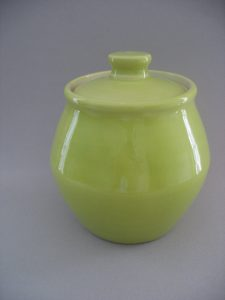 Green Covered Jar