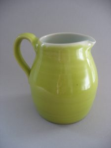 Fat Green Pitcher